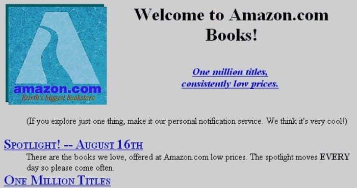Amazon.com: 1994 Launch