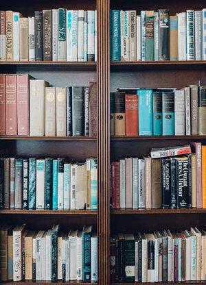 Tidy bookshelf