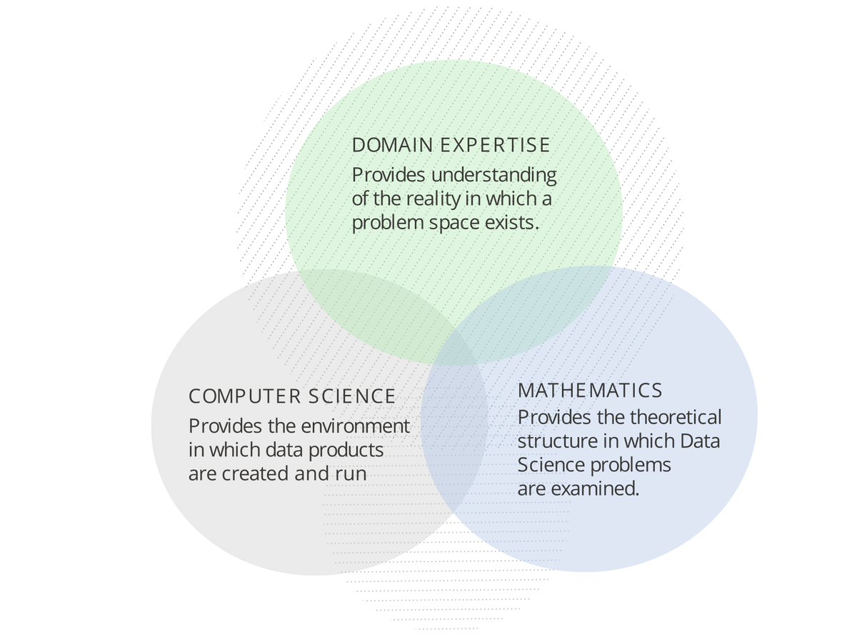 Data Science Disciplines and their Overlap