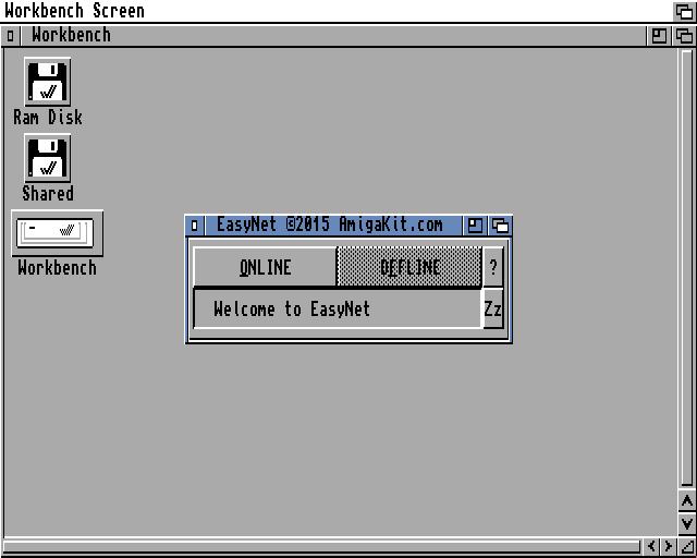 The EasyNet UI