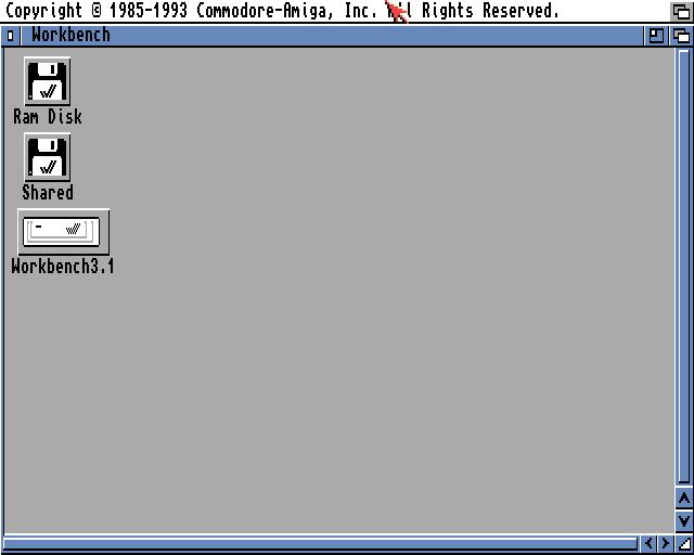 Amiga Workbench