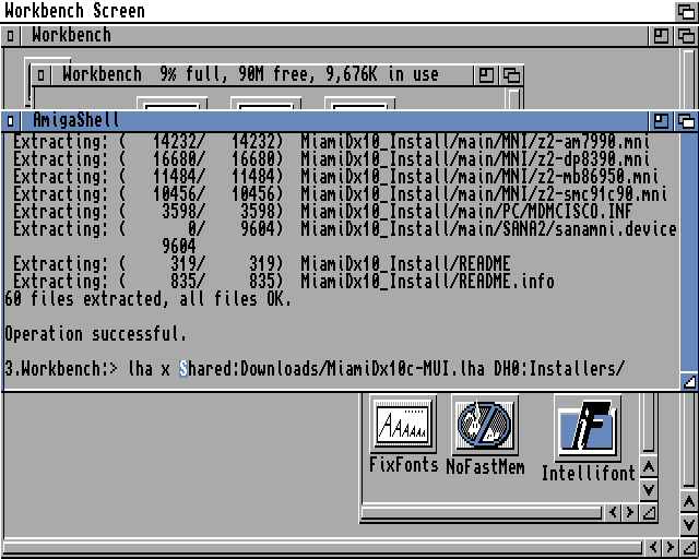 Extracting the main MiamiDX MUI