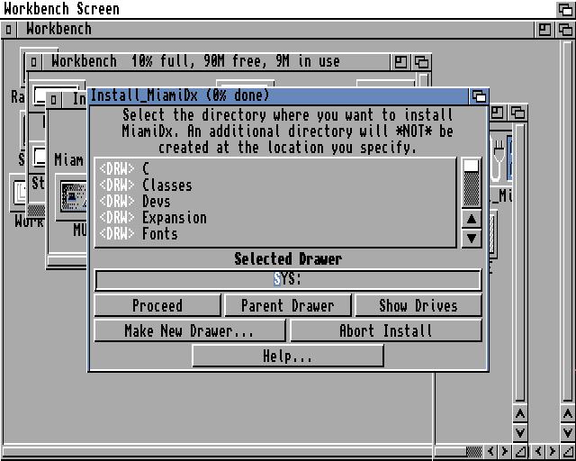 Default MiamiDx install path