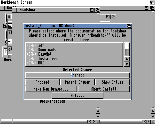 Installing and using the GuruNet for the Amiga