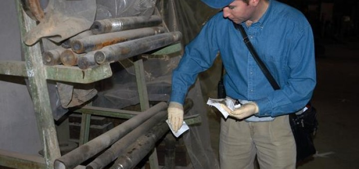 UN Weapons Inspector in Iraq (photo credit: IAEA)