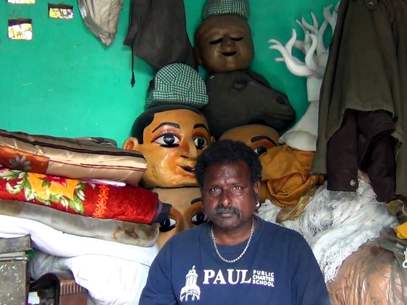 Puran Bhat- Puppeteer