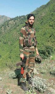 Hizbul Mujahideen separatist leader Burhan Wani was killed Friday July 8, 2016 by Indian troops. (Photo Credit: Support 2016 via Wikimedia Commons)