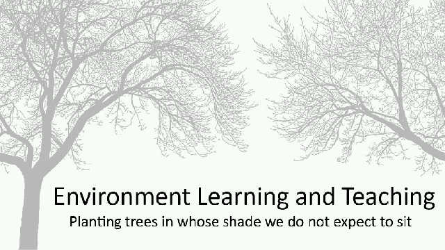 Environment Learning and Teaching