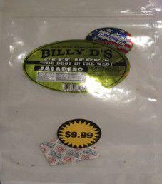 Billy D's - Jalapeno Beef Jerky