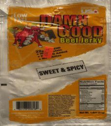 Damn Good - Sweet & Spicy Beef Jerky (51g)