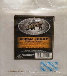 It's Buff - Pepper Buffalo Jerky