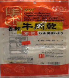 Mong Lee Shang - Hot Beancurd Jerky