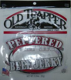 Old Trapper - Peppered Beef Jerky 3.25oz