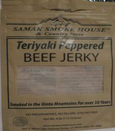 Samak Smoke House - Teriyaki Peppered Beef Jerky
