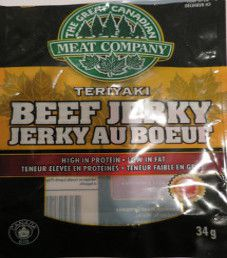 The Great Canadian Meat Factory - Teriyaki Jerky