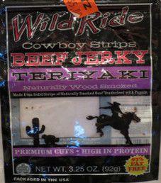 Wild Ride - Teriyaki Beef Jerky