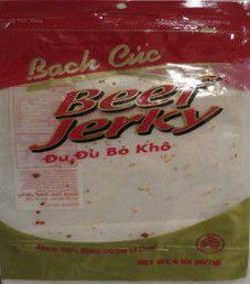Bach Cuc - Du Du Bo Kho Beef Jerky