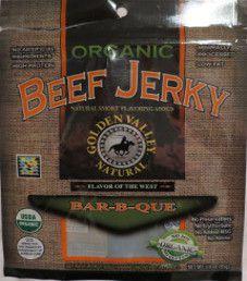 Golden Valley Natural- Bar-B-Que Beef Jerky