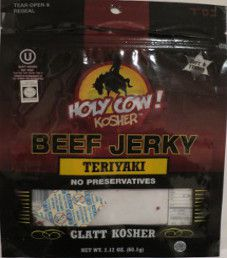 Holy Cow! Kosher - Teriyaki Beef Jerky
