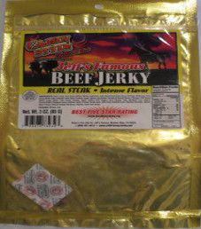 Jeff's Famous- Cajun Style Beef Jerky