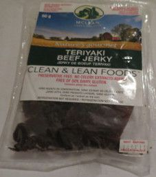 McLean - Teriyaki Beef Jerky