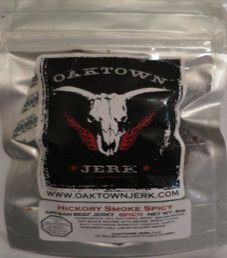 Oaktown Jerk - Hickory Smoke Spicy Beef Jerky