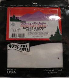 Ramapo Ridge- Sweet & Spicy Beef Jerky
