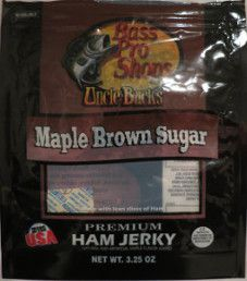Uncle Buck's - Maple Brown Sugar Ham Jerky