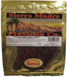 Sierra Madre Provision Co. - Whiskey BBQ Beef Jerky