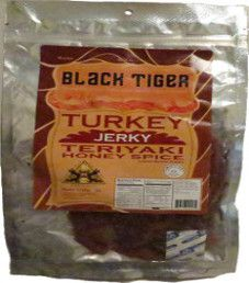 Black Tiger - Teriyaki Honey Spice Turkey Jerky