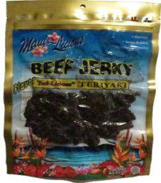 Maui~Licious - Teriyaki Beef Jerky