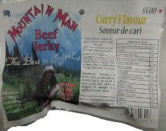 Mountain Man - Curry Beef Jerky
