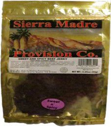 Sierra Madre Provision Co. - Sweet and Spicy Beef Jerky