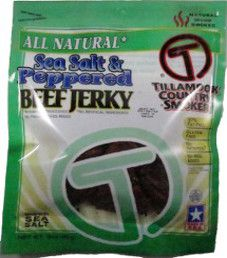 Tillamook Country Smoker - Sea Salt & Peppered Beef Jerky