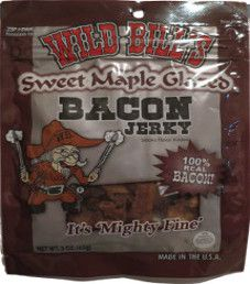 Wild Bill's - Sweet Maple Glazed Bacon Jerky