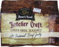 Boar's Head - London Broil Seasoned Beef Jerky