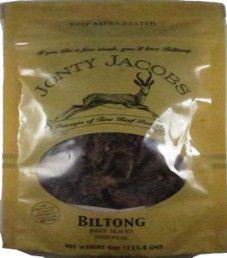 Jonty Jacobs - Original Beef Biltong