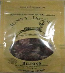 Jonty Jacobs - Traditional Tender Beef Biltong