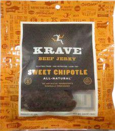 Krave Jerky - Sweet Chipotle Beef Jerky