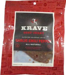 Krave - Garlic Chili Pepper Beef Jerky