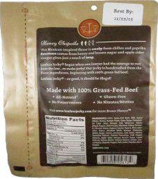 Lawless Jerky - Sweet Sriracha 100% Grass Fed Beef Jerky