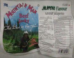 Mountain Man - Jalapeno Beef Jerky