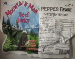 Mountain Man - Pepper Beef Jerky
