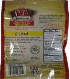 PJ's All Natural Beef Steak - Original Beef Steak Strips