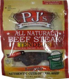 PJ's All Natural Beef Steak - Teriyaki Beef Steak Tenders