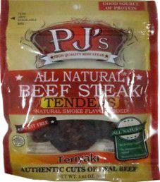 PJ's All Natural Beef Steak - Teriyaki Beef Steak Tenders