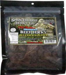Smokehouse Jerky Co. - Ole Cracked Pepper Beef Jerky