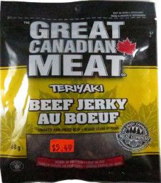 The Great Canadian Meat Company - Teriyaki Beef Jerky