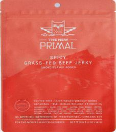 The New Primal - Spicy 100% Grass Fed Beef Jerky
