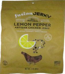 Fusion Jerky - Lemon Pepper Turkey Jerky